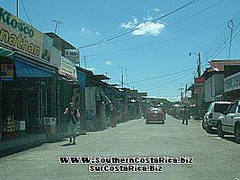 Shops in panama border