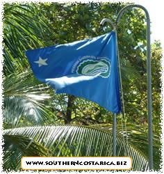 Playa pinuelas, bandera ecologica